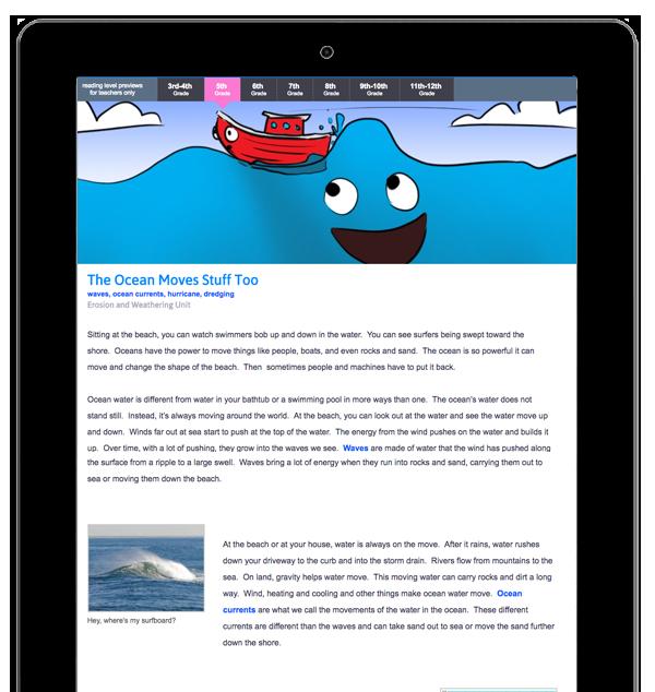 RocketLit ~ Articles Read Aloud using Readspeaker